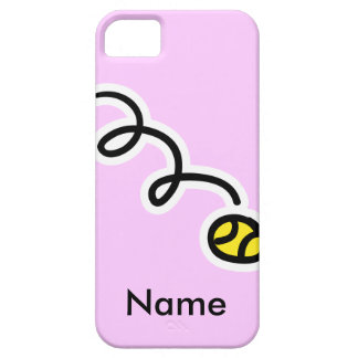 Tennis themed iphone case with your name