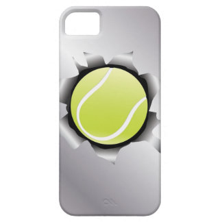 tennis thru metal sheet iPhone 5 cover