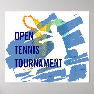 TENNIS TOURNAMENT POSTER