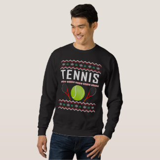 Tennis Ugly Christmas Sweater