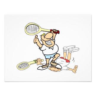 Tennis Winner Custom Invitation