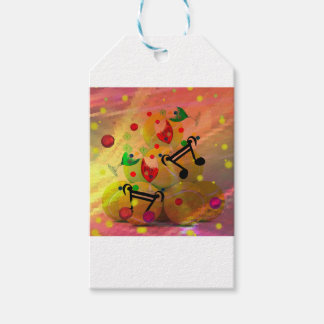 Tennis with music notes in Christmas Pack Of Gift Tags