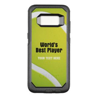 Tennis World's Best Player | Sport OtterBox Commuter Samsung Galaxy S8 Case