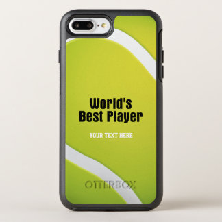 Tennis World's Best Player | Sport OtterBox Symmetry iPhone 7 Plus Case
