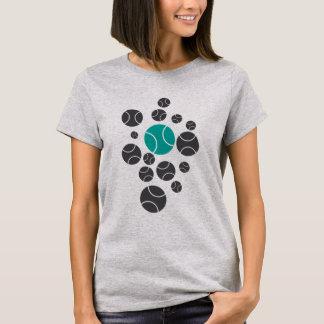 tennisballs-blue T-Shirt