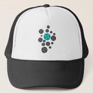 tennisballs-blue trucker hat