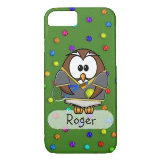 tennisman owl iPhone 7 case