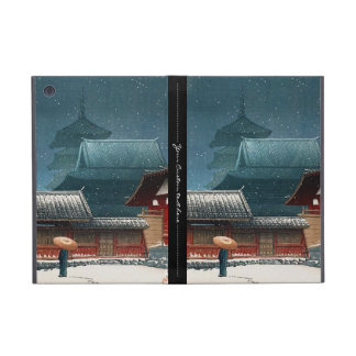 Tennô-ji Temple in Osaka hasui kawase shin hanga iPad Mini Cover