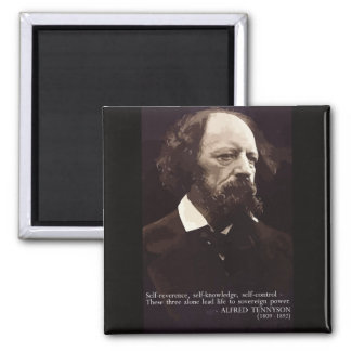 Tennyson 'Sovereign Power' Quote Magnet