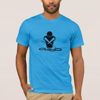 Tenor Drums Quads Quints Drumline Marching T-Shirt