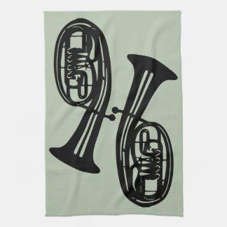 Tenor Horns Kitchen Towel