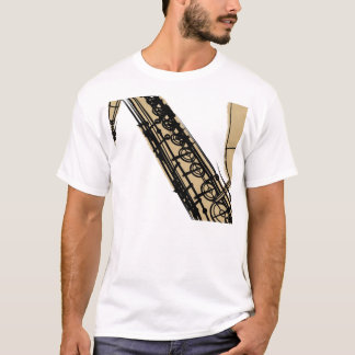 tenor sax khaki T-Shirt