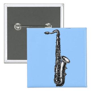 Tenor Saxophone 2 Inch Square Button