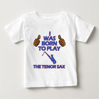 tenor saxophone Musical designs Baby T-Shirt