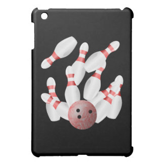 Tenpin bowling Pins and Bowling Ball Case For The iPad Mini