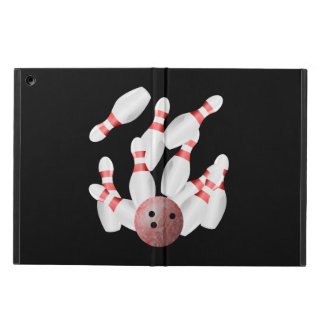 Tenpin bowling Pins and Bowling Ball Cover For iPad Air