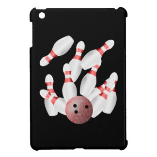 Tenpin bowling Pins and Bowling Ball Cover For The iPad Mini