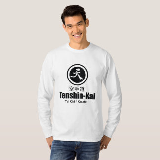 Tenshin-Kai Karate(mens) long-sleeve T-Shirt
