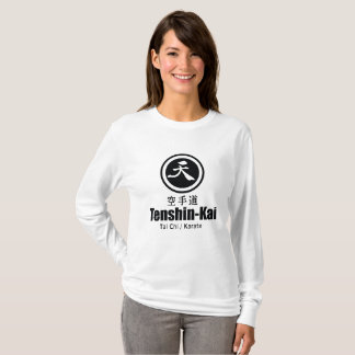 Tenshin-Kai Karate(womens) long-sleeve T-Shirt