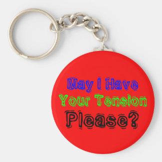 Tension Please Keychain