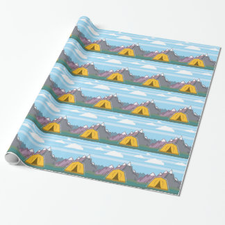 Tent and mountains