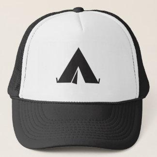 Tent icon hat