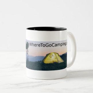 Tent/Mountain Mug