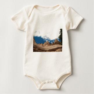 Tent Rocks Mountains New Mexico Baby Bodysuit