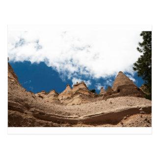 Tent Rocks Mountains New Mexico Postcard