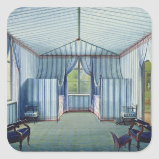 Tent Room, after 1830 Square Sticker