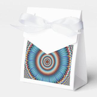 "Tent White Ribbon Favor Box - ""Dizzy"" by SnapDaddy"