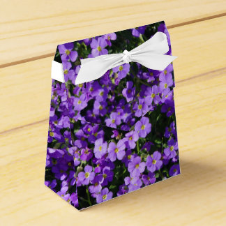 Tent with Flowers Wedding Favor Boxes
