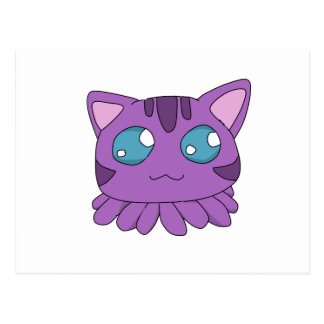 Tentacle Cat Postcard