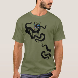 Tentacle Cthulhu Horror T-Shirt
