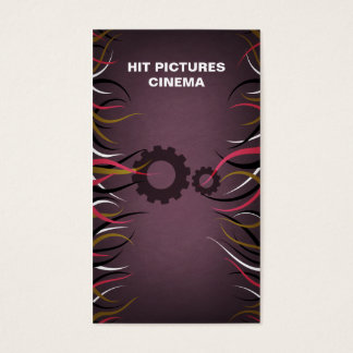 Tentacle Hall Industrial Production Gears Card