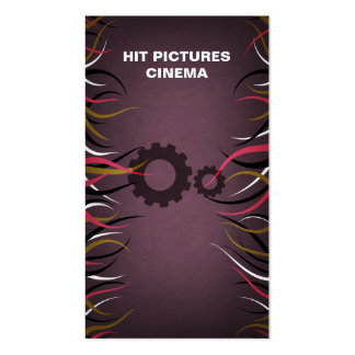 Tentacle Hall Industrial Production Gears Card Business Card