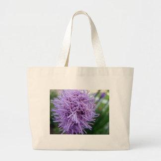 Tentacle Spider Violet Flower Large Tote Bag