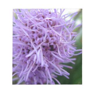 Tentacle Spider Violet Flower Notepad