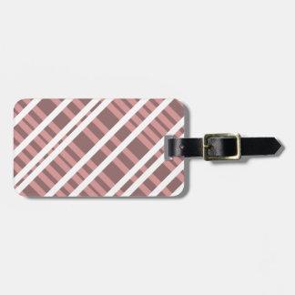 Tentacle Stripes Luggage Tag