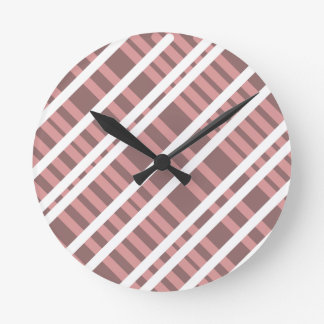 Tentacle Stripes Round Clock