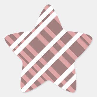 Tentacle Stripes Star Sticker