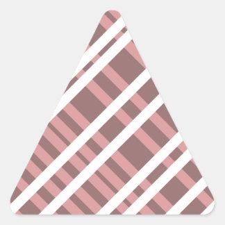 Tentacle Stripes Triangle Sticker