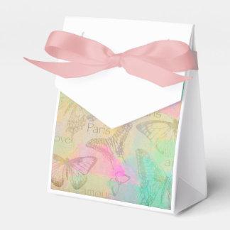 Tente Paris love coils Wedding Favor Box
