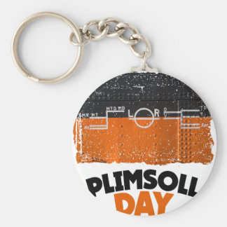 Tenth February - Plimsoll Day - Appreciation Day Keychain