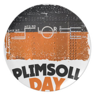 Tenth February - Plimsoll Day - Appreciation Day Plate