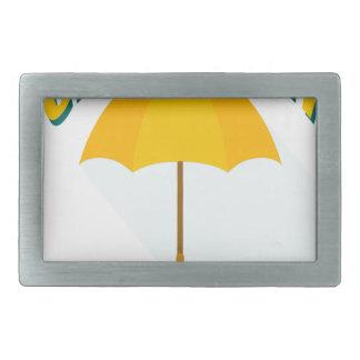 Tenth February - Umbrella Day - Appreciation Day Belt Buckles