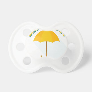 Tenth February - Umbrella Day - Appreciation Day Pacifier