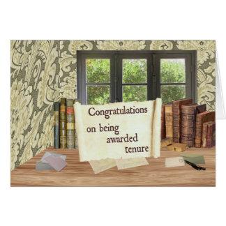 Tenure Congratulations Card