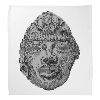 Teotihuacan head bandana