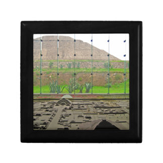 Teotihuacan - Sun Pyramid and Museum Gift Box